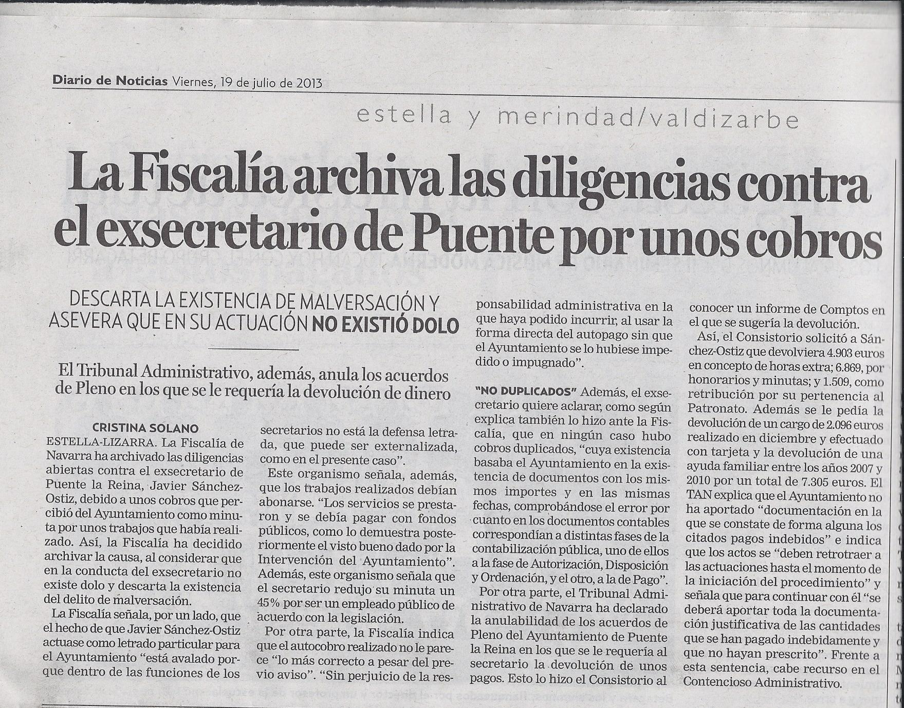 Diario de Noticias 19.07.2013 - Horizontal