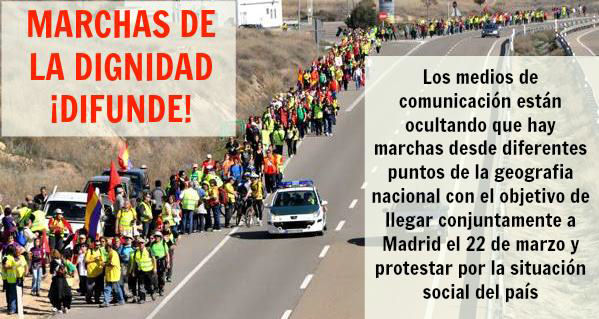 Marcha a Madrid 22.3.2014