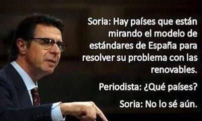 Ministro Soria - Foto Mª Jose Castaño Sanchez